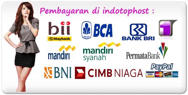 Rekening Pembayaran di Indotophost